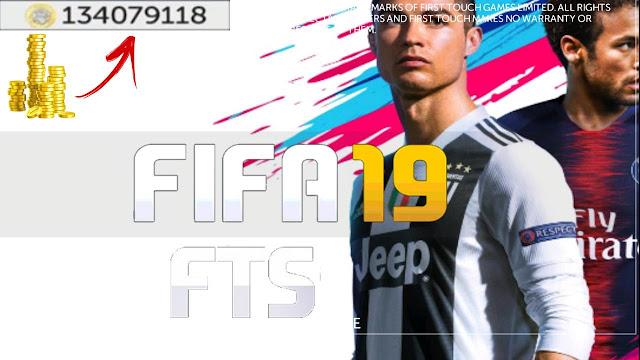 لعبة FIFA 19 Offline MOD FTS Android بدون انترنيت
