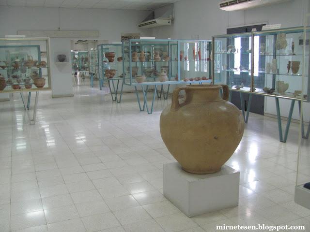 Находки из Китиона и других исторических мест в Археологическом музее Ларнаки