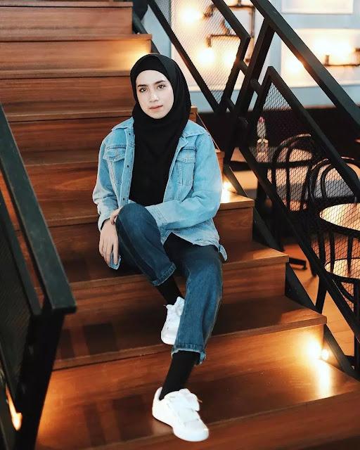 Gaya dengan penampilan seperti Style Hijab Feminin