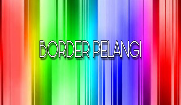 Membuat Border Pelangi Sederhana Dengan CSS Di Blog