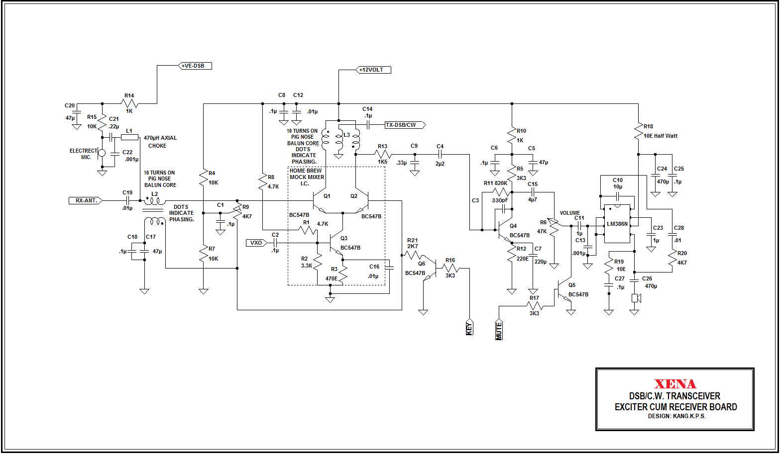 Qrp Rf Amplifier Schematic