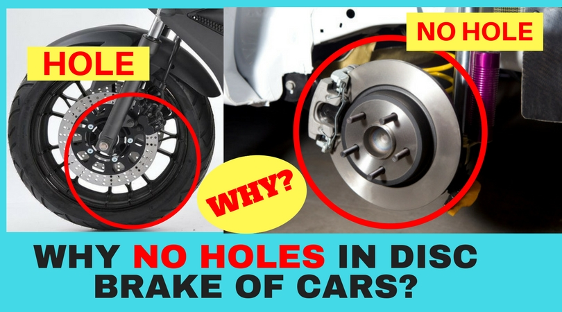 You Might Have Observed That Disc Of The Brakes Motorcycles Holes Whereas Car Don T