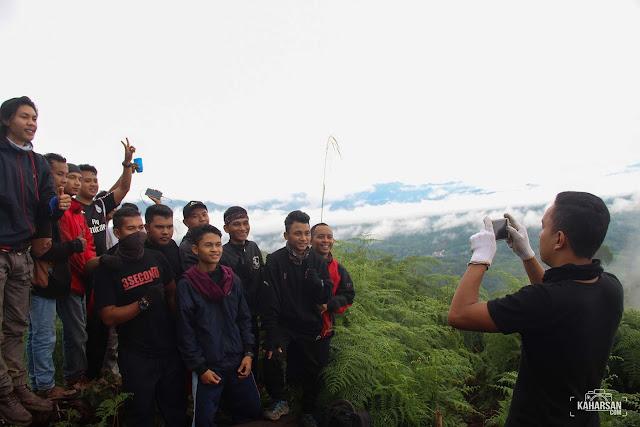 Foto Puncak Mentajam Bukit Bongku Kec Nanga Mahap Kab Sekadau- kaharsan