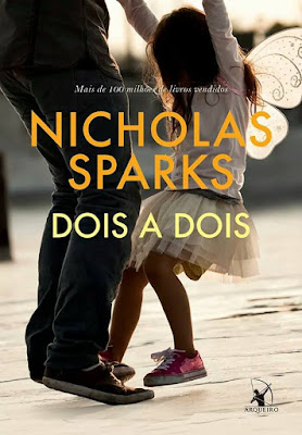 [Pré Venda] Dois a Dois - novo livro de Nicholas Sparks