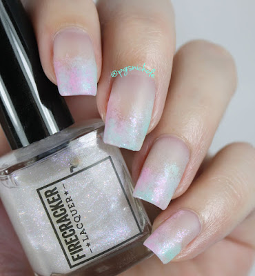 Magical Unicorn SerioFrench Manicure