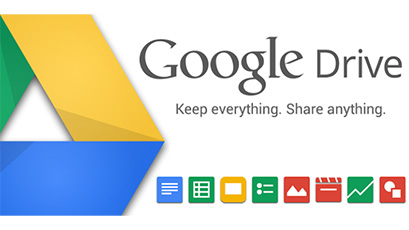 Google Drive account, no limit