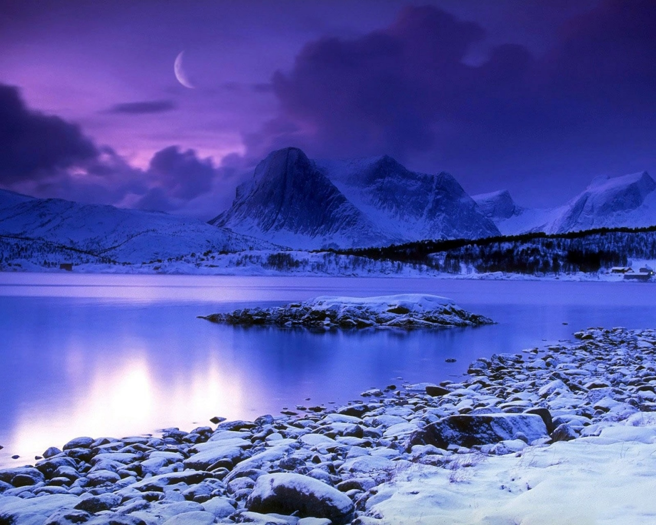 Mountain Pictures: Mountains At Night