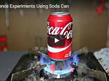Top 5 Science Experiments By Using Soda Can