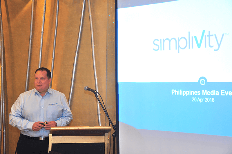 SimpliVity is rapidly growing in the Philippines