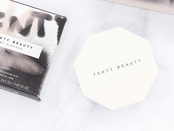 Review│Fenty Beauty Killawatt Freestyle Highlighting Duo in Lightning Dust + Fire Crystal