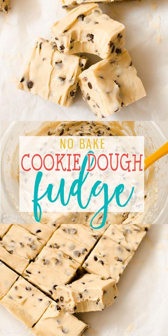 Cookie Dough Fudge #cookie #dough #fudge #bakingrecipes #recipesforkids #cookierecipes #goodcookierecipes #sandwichrecipe #healthycookies #healthybaking #dezzertrecipes #bakingideas #baking