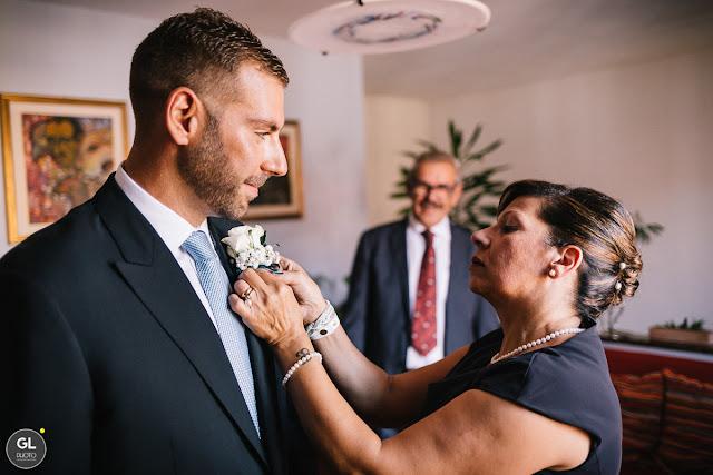 Preparazione sposo