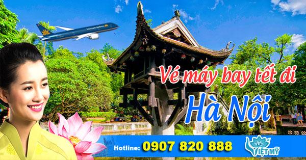 Vé máy bay tết 2017 đi Hà Nội