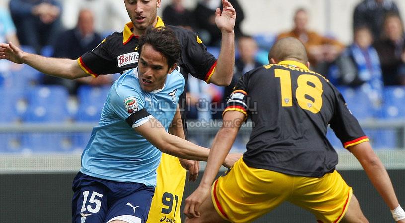 لاتسيو يحقق فوز كبير على فريق ليتشي باربع اهداف مقابل هدفين في الجولة الثانيه عشر من الدوري الايطالي