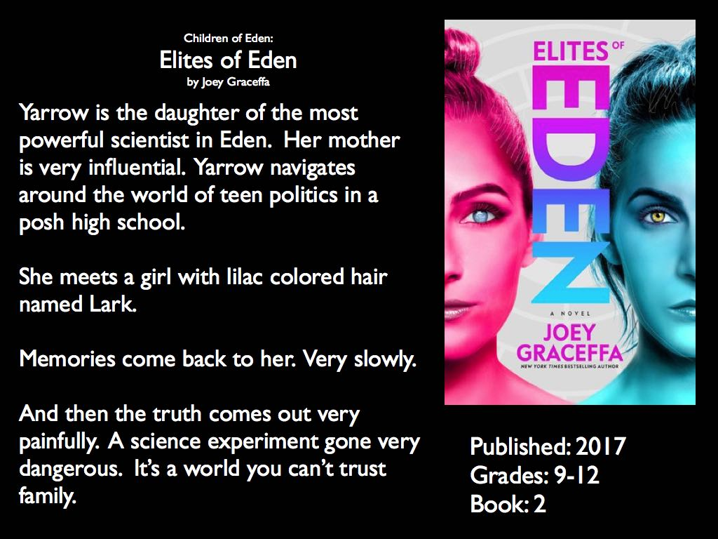 Children of Eden: Elites of Eden by Joey Graceffa