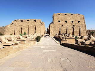 The complex of Karnak temples