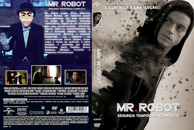 Capa DVD Mr Robot Segunda Temporada