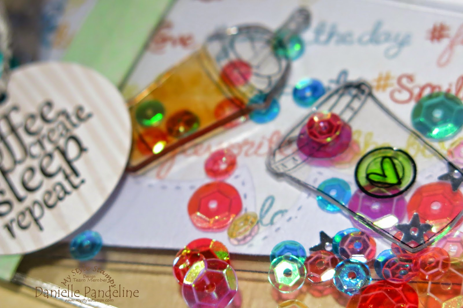 Brag Book | Featuring My Style Stamps Products | Created by Danielle Pandeline