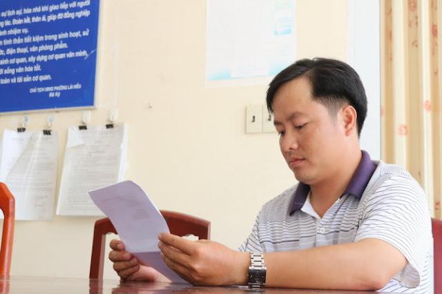 www.domaindep.org - Công an viên Nguyễn Ngọc Hải nghỉ việc, xin đi làm bảo vệ - Ảnh: Lê Dân