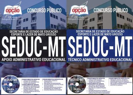 Apostila Seduc MT Técnico administrativo educacional