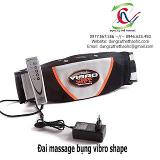 Đai massage bụng Vibro Shape