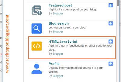 Add Recent Post Widget For Blogger 2