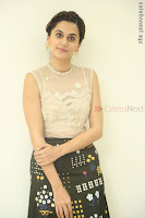 Taapsee Pannu in transparent top at Anando hma theatrical trailer launch ~  Exclusive 087.JPG