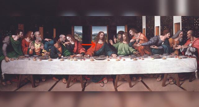 Mensajes en la última cena de Leonardo Da Vinci