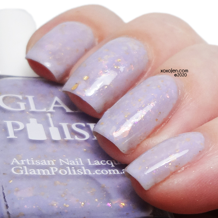 xoxoJen's swatch of Glam Polish This Madame, Is Versailles.