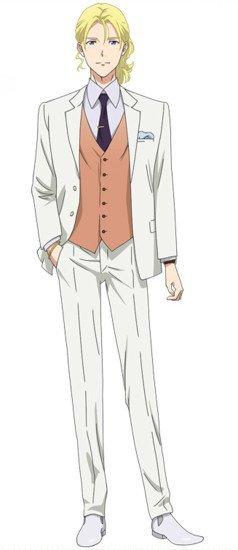el seiyuu Takahiro Sakurai se une al reparto de voces como Charles de Loire.