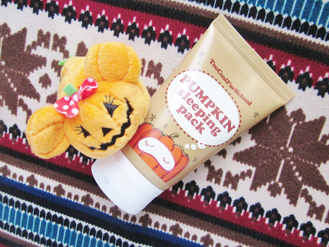 Too Cool For School Pumpkin Sleeping Pack Beauty Review