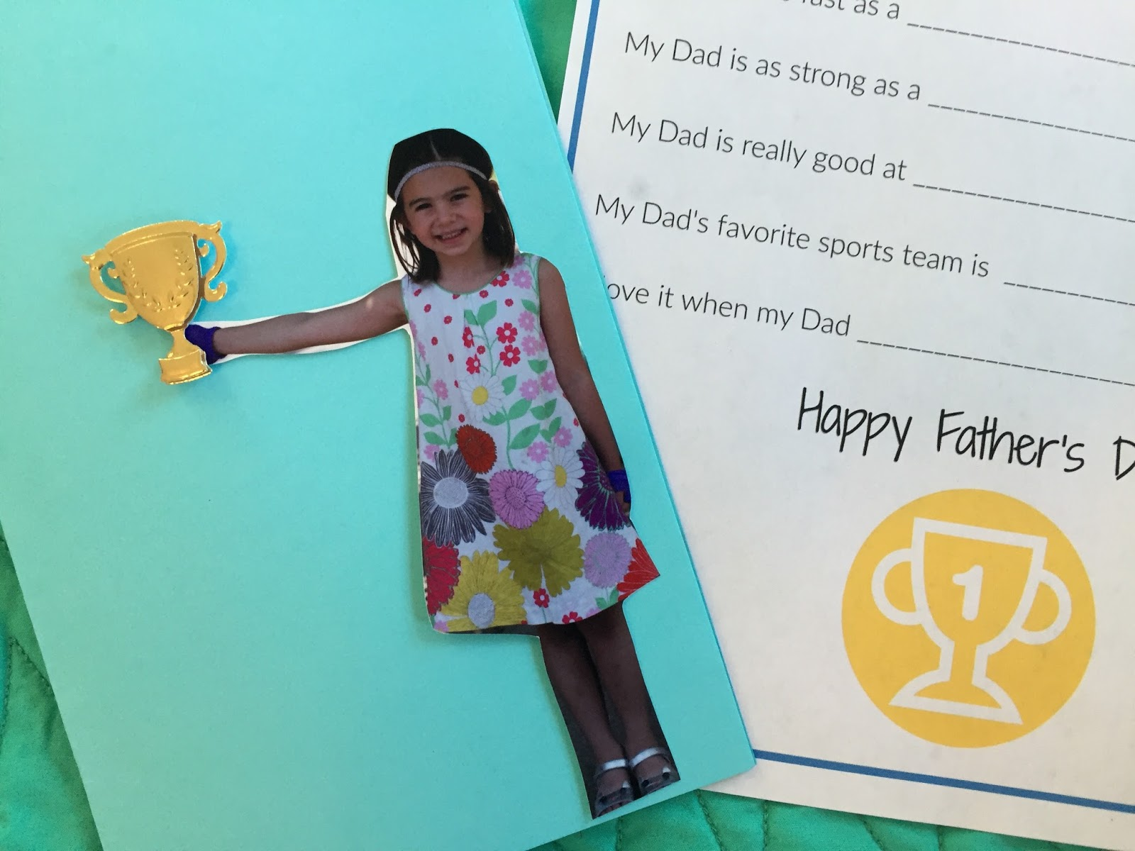 Father S Day Crafts Kids Can Make For Their Sports Fan