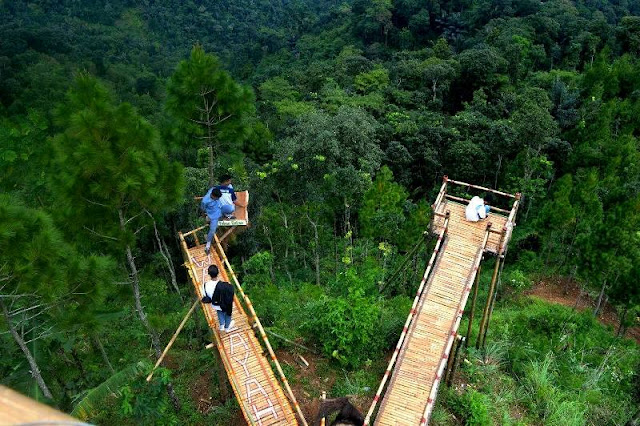 Tempat Wisata Watu Layah Tlogopucang Temanggung