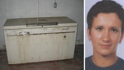 18 años después de desaparecida encuentran a joven en un congelador