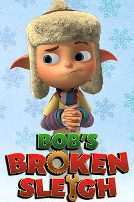 Bob's Broken Sleigh 2015 DVD Custom NTSC Latino