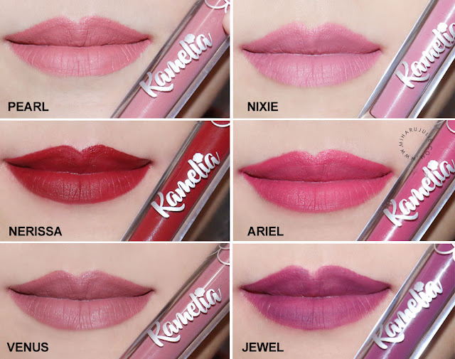 rekomendasi lip cream matte