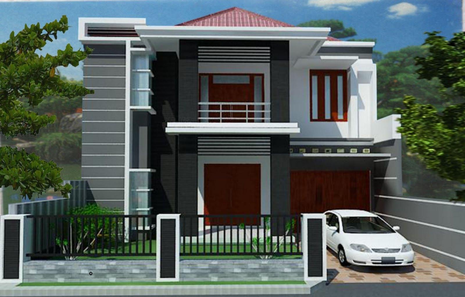 Estimasi Biaya Membangun Rumah Minimalis 2 Lantai Desain Rumah Minimalis