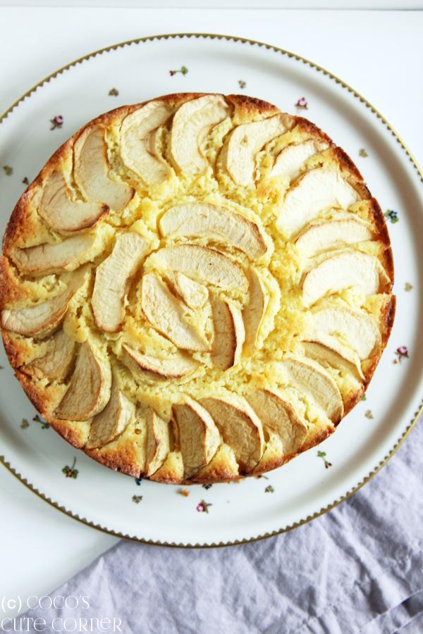 Coco S Cute Corner Apfelkuchen Einstimmung Auf Den Herbst