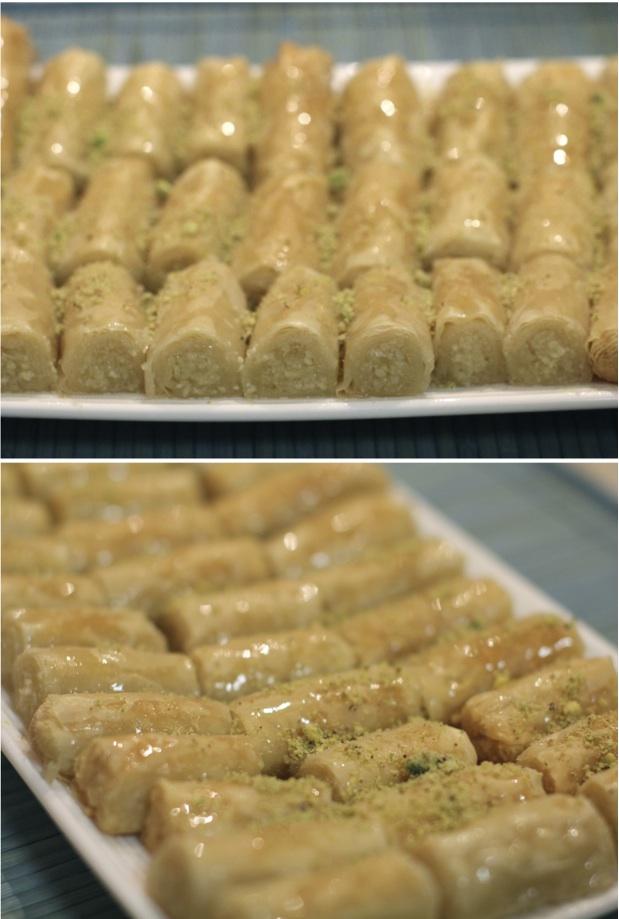 How To Make Baklava Fingers