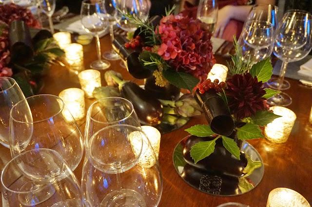 Dine Venues The Mansion Leeds table centre