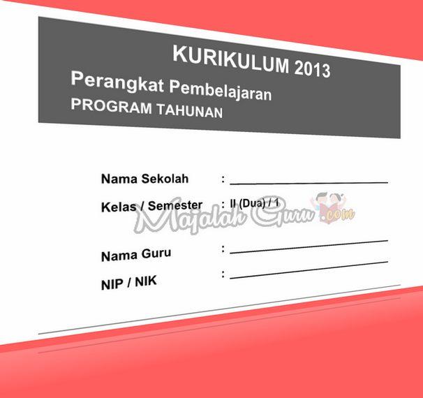 RPP SILABUS Kurikulum 2013 Kelas II Semester 1 dan 2 Revisi 2016