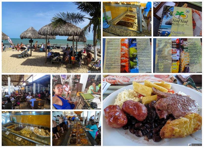 Restaurante Naf Naf - Jacumã - Passeio de Buggy em Natal
