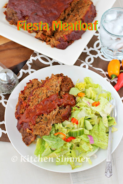 Kitchen Simmer Fiesta Meatloaf Yesyoucan Collectivebias