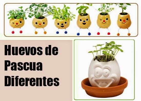 Ideas para hacer Huevos de Pascua Diferentes