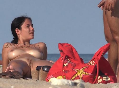 Nude at the Beach Topless Girls Filmed Voyeur (NudeBeach sb15040-15049)