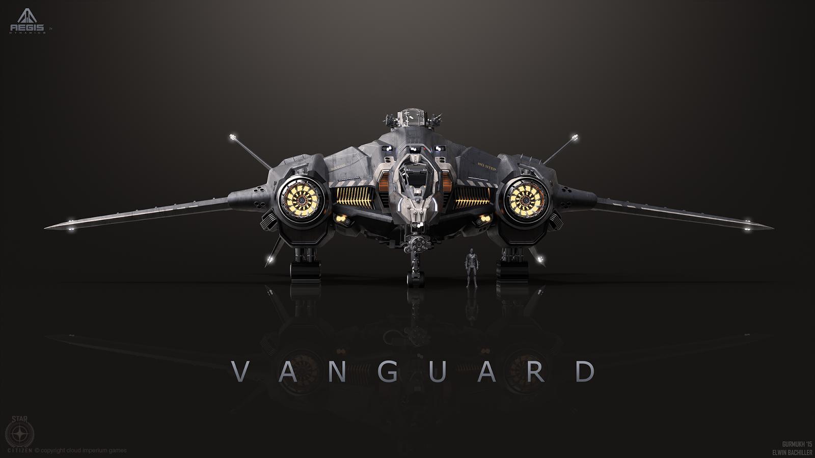 Art Of Gurmukh Bhasin: Vanguard Concept Art