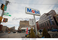 A Mobil gas station in the East Village in New York (Contributor: Richard Levine / Alamy Stock Photo) Click to Enlarge.