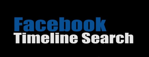 How to search your facebook timeline