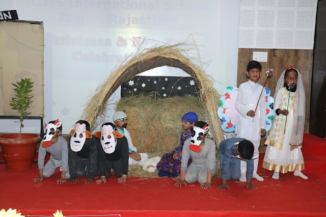Christmas Day and New Year celebration at NIMS International School