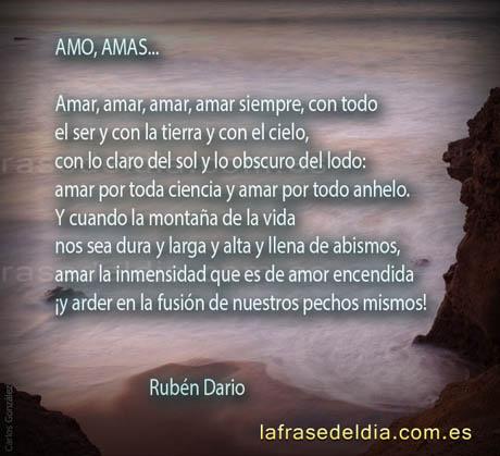 Poemas de amor Rubén Darío